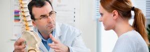 doctor educating patient
